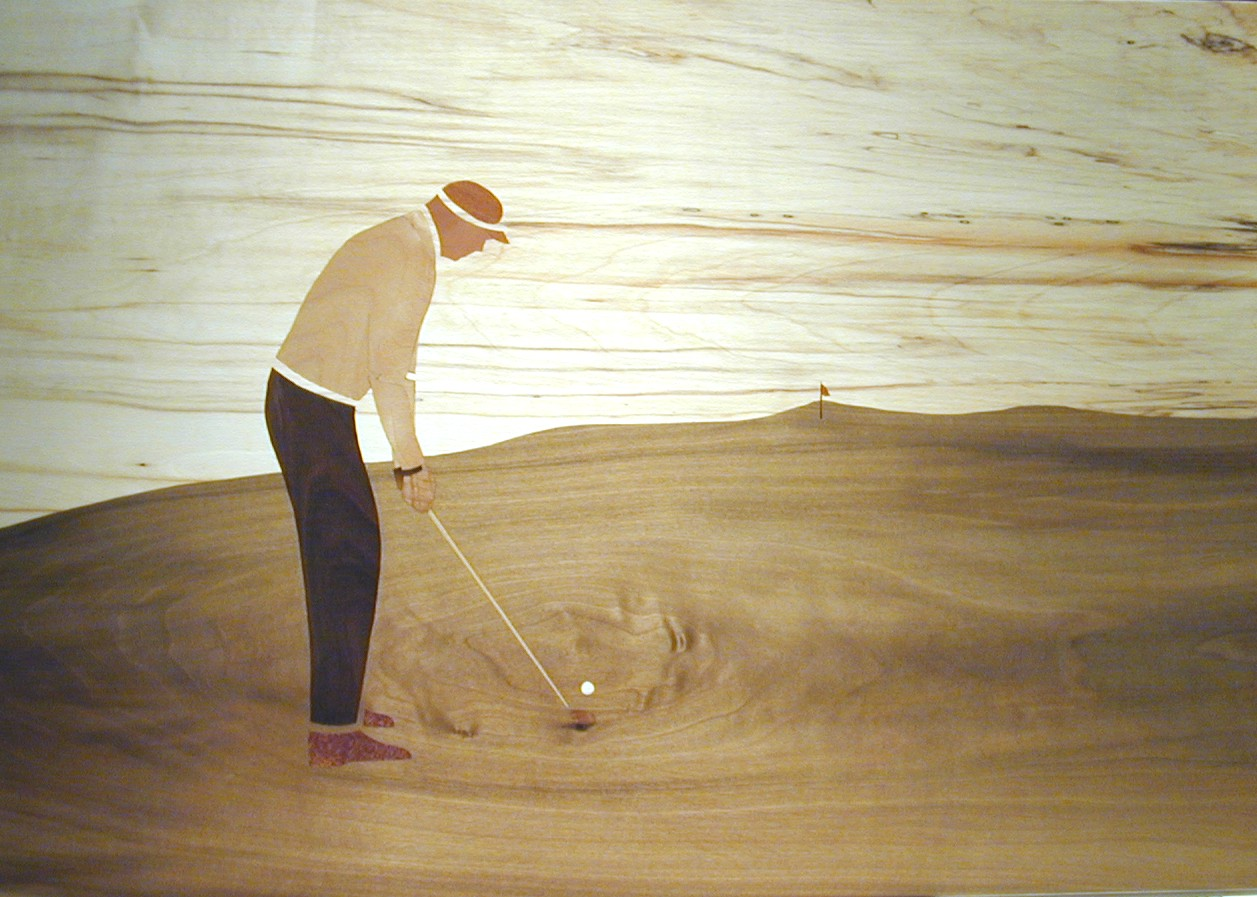Golf Concentration 60x42 cm